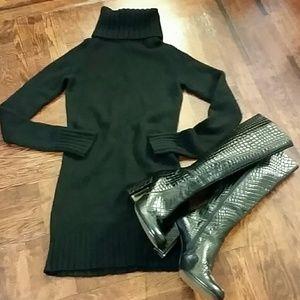 Theory cashmere turtleneck dress